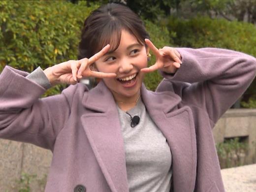 田中瞳アナ エロいおっぱいキャプ画像(エロ・アイコラ画像)
