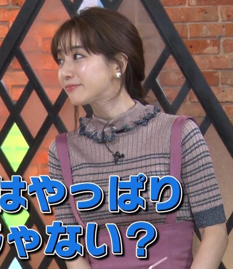 田中みな実 デカさが際立つ横乳画像キャプ・エロ画像8
