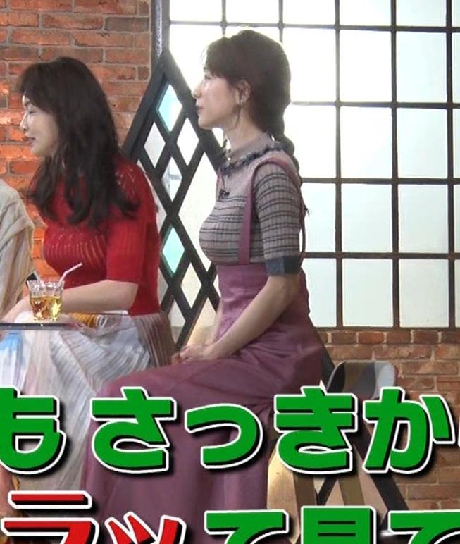 田中みな実 デカさが際立つ横乳画像キャプ・エロ画像9