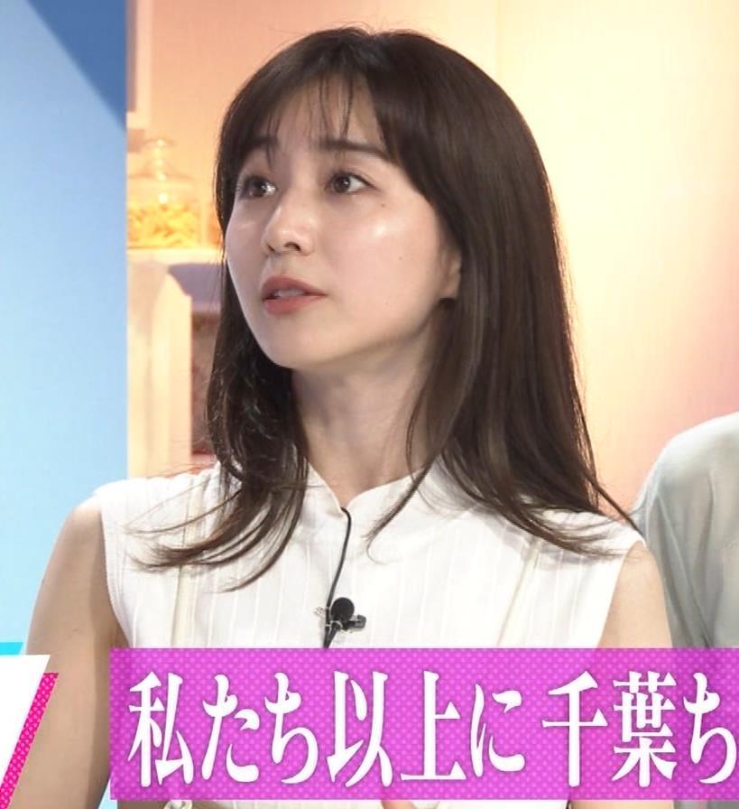 田中みな実 横乳&ワキエロキャプ・エロ画像