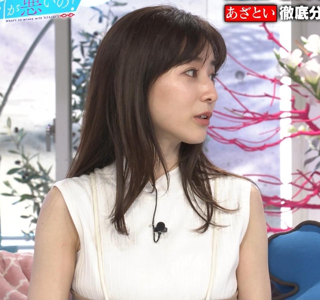 田中みな実 横乳&ワキエロキャプ・エロ画像4