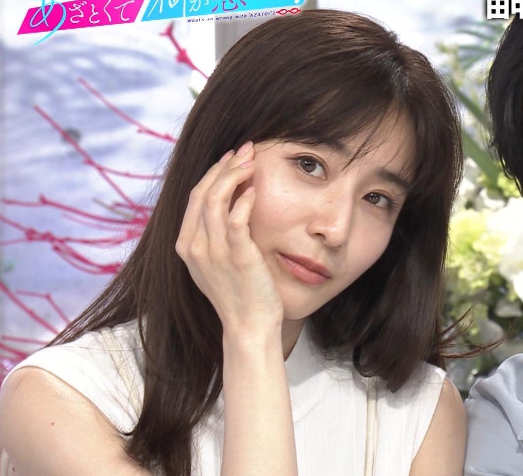田中みな実 横乳&ワキエロキャプ・エロ画像6