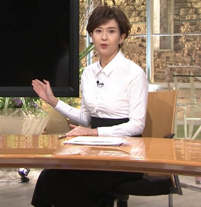 徳永有美 胸がパツパツのシャツキャプ・エロ画像