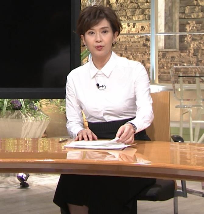 徳永有美 胸がパツパツのシャツキャプ・エロ画像2