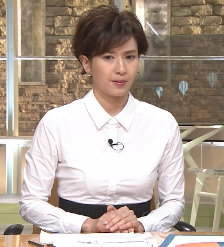 徳永有美 胸がパツパツのシャツキャプ・エロ画像6