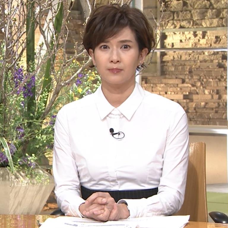 徳永有美 胸がパツパツのシャツキャプ・エロ画像7