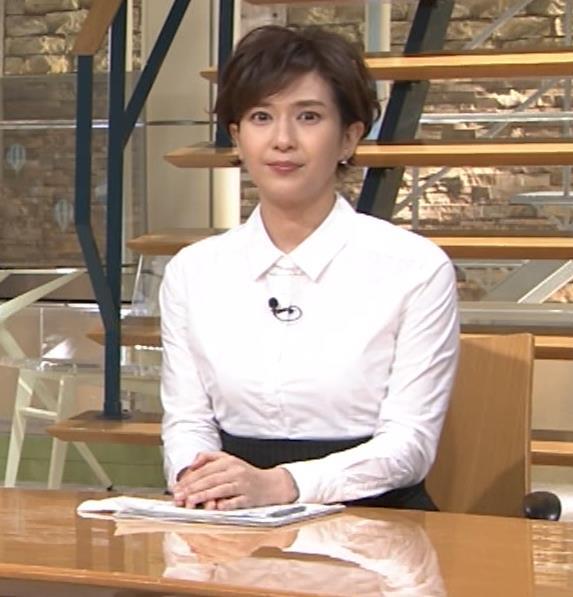 徳永有美 胸がパツパツのシャツキャプ・エロ画像8