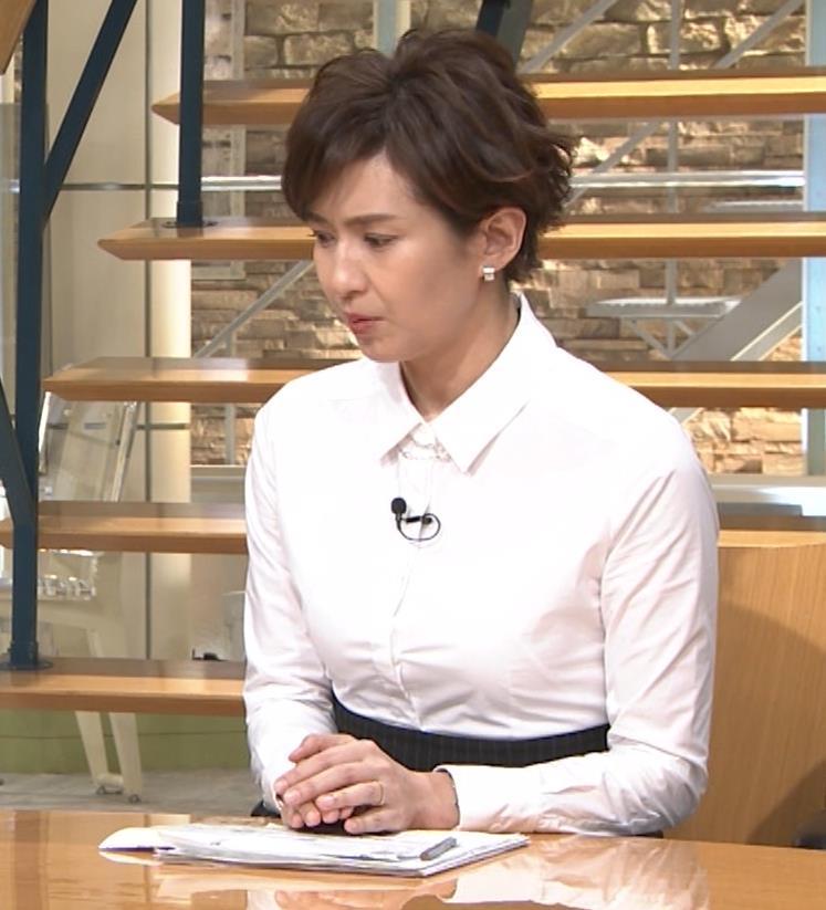 徳永有美 胸がパツパツのシャツキャプ・エロ画像9
