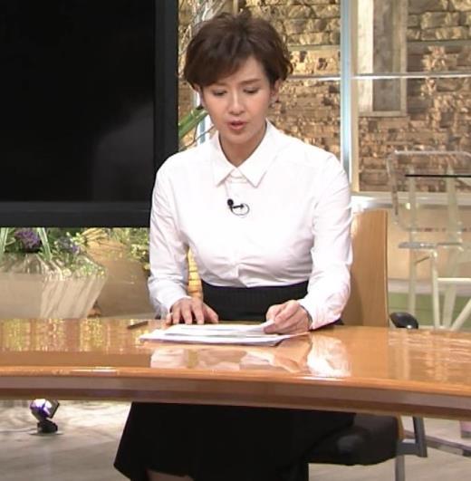 徳永有美 胸がパツパツのシャツキャプ画像(エロ・アイコラ画像)
