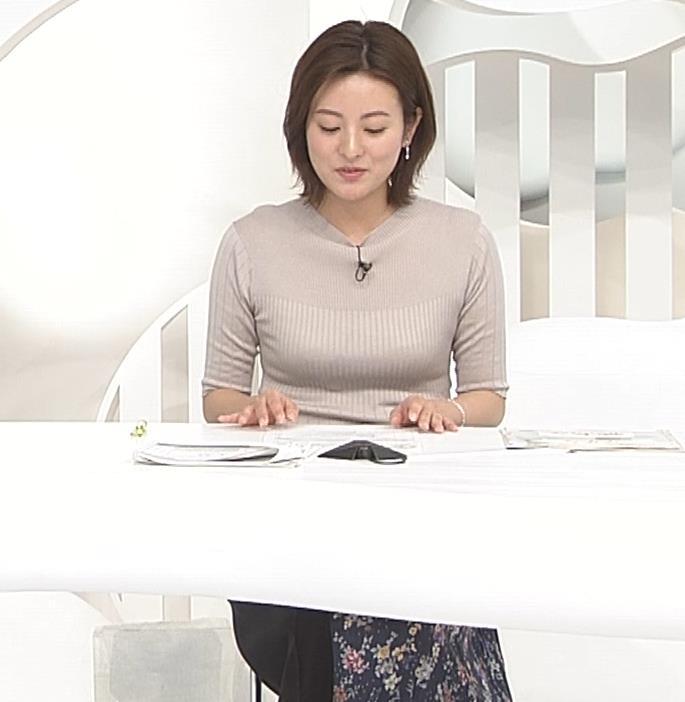 徳島えりかアナ 朝からダンスでおっぱい揺れ揺れ!![動画]キャプ・エロ画像3