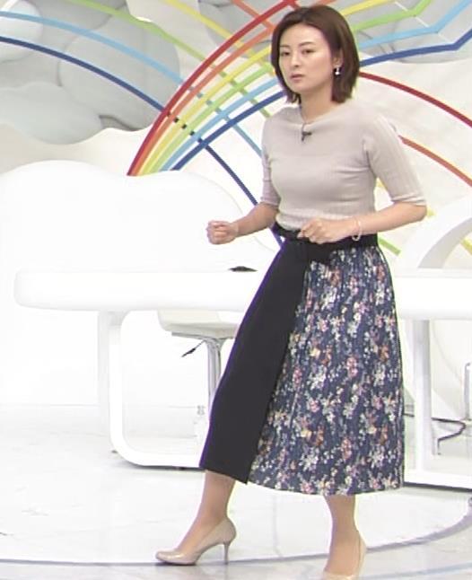 徳島えりかアナ 朝からダンスでおっぱい揺れ揺れ!![動画]キャプ・エロ画像8