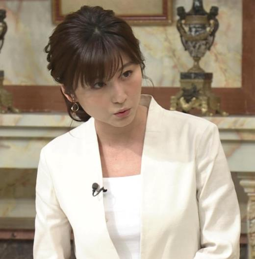 宇賀なつみ 白いジャケットキャプ画像(エロ・アイコラ画像)