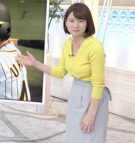 宇内梨沙アナ エロニットキャプ・エロ画像5