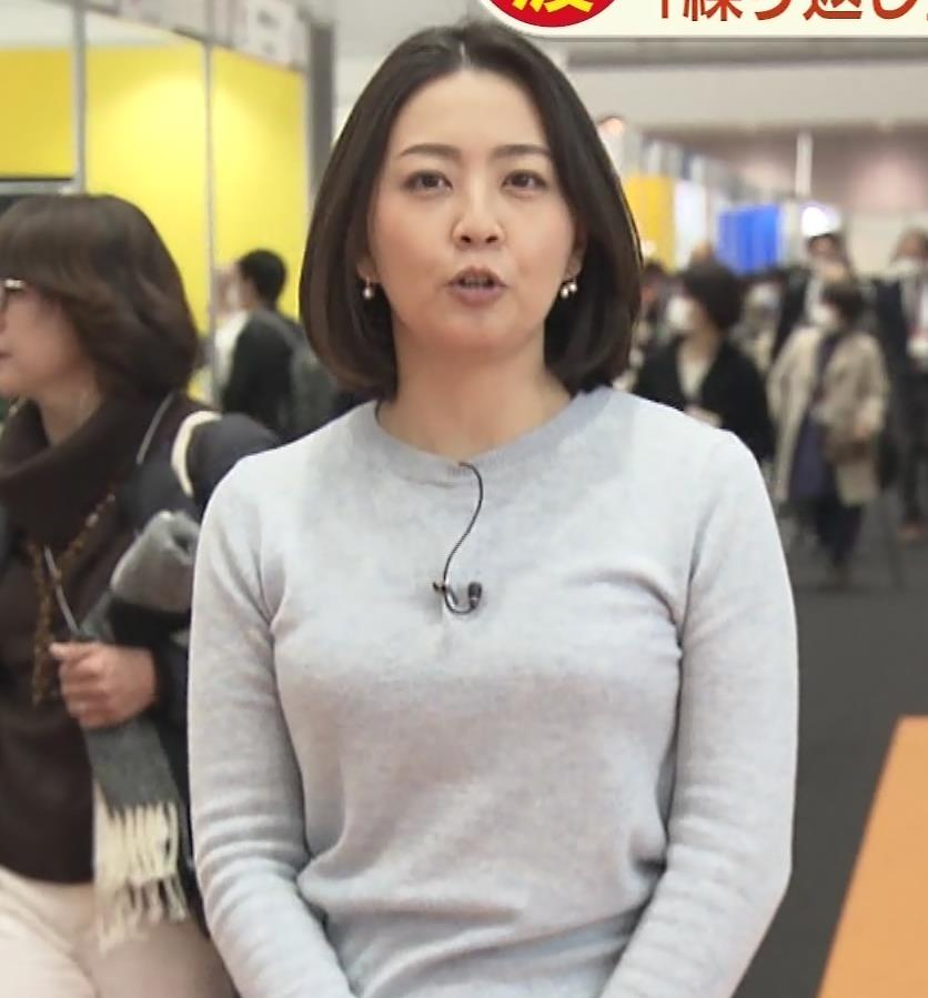 矢島悠子アナ エッチな胸元キャプ・エロ画像5