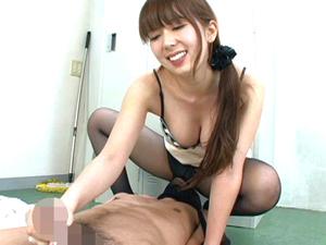 波多野結衣 一流女優がテクニカルな手コキで次々とザーメンを搾り出す!